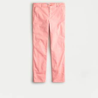 Vintage straight pant in garment-dyed stretch chino