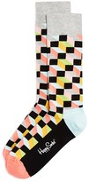 Happy Socks Men's Filled Optic Cube Socks