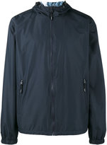 Kenzo k way reversible hooded jacket
