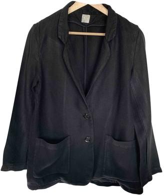 Des Petits Hauts Black Linen Jacket for Women