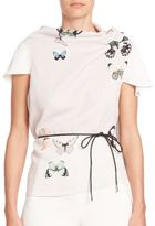Roland Mouret Eugene Butterfly Top
