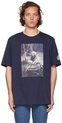 Etro Blue Star Wars Edition Yoda T-Shirt