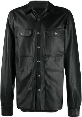 Rick Owens Leather Shirt