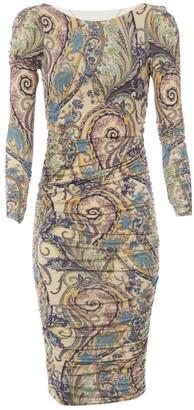 Ungaro Fuchsia Multicolour Dress for Women