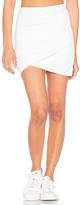 James Perse Wrap Skinny Skirt in White