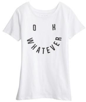 Love Tribe Juniors' Message T-Shirt