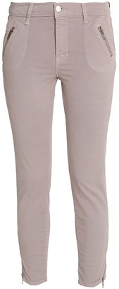 J Brand Stretch-cotton Skinny Pants
