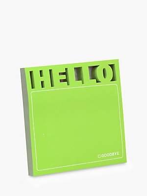 Knock Knock Hello Sticky Notes