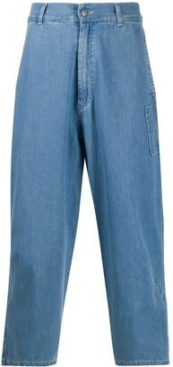 Henrik Vibskov Hang high-rise cropped jeans