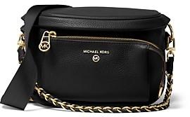 MICHAEL Michael Kors Slater Medium Sling Pack Leather Messenger