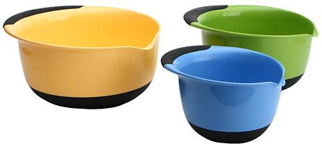 OXO Good Grips® 3-Piece Plastic Mixing Bowl Set