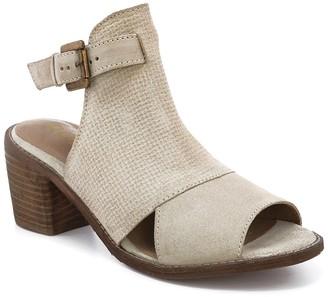 ROAN Christine Suede Block Heel Sandal