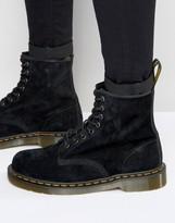 Dr Martens 1460 8 Eye Suede Boots