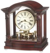 Bulova Sebastian Table Clock in Walnut