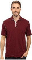 True Grit Soft Slub Short Sleeve Vintage Polo
