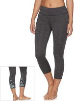 Gaiam Women's Om Renew Capri Yoga Leggings