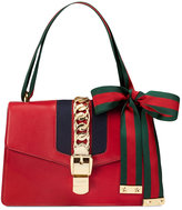 Gucci Sylvie leather shoulder bag - women - Leather - One Size