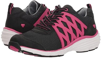 Nurse Mates Brin (Black/Pink) Women's Shoes