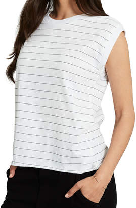 Frank And Eileen Vintage Striped Muscle Tee