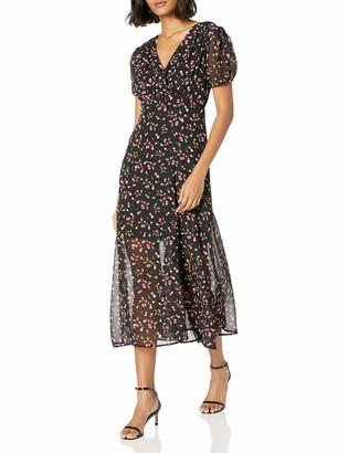 Betsey Johnson Women's Cherry Maxi Dress Black/Multi 2