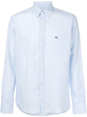 Etro Button-Down Logo Shirt