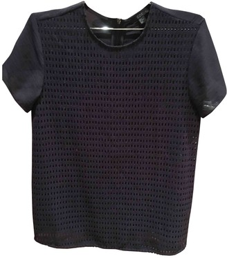 Cos Blue Wool Top for Women