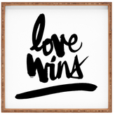 DENY Designs Love Wins Large Square Tray