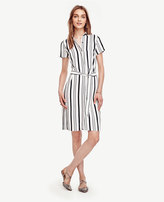 Ann Taylor Tall Striped Shirtdress