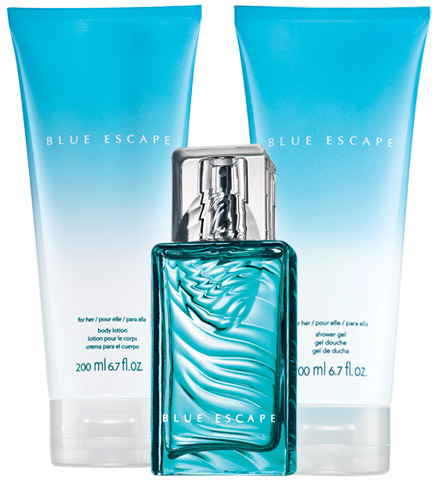 Avon Blue Escape for Her 3-Piece Fragrance Collection