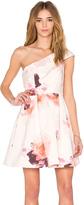 Keepsake Cold Shoulder Mini Dress