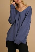 Umgee USA V Neck Light Sweater