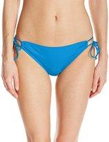 Bikini Lab Women's Solid Solutions Adjustable Hipster Bottom