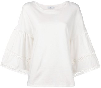 Closed Wide Sleeve Top