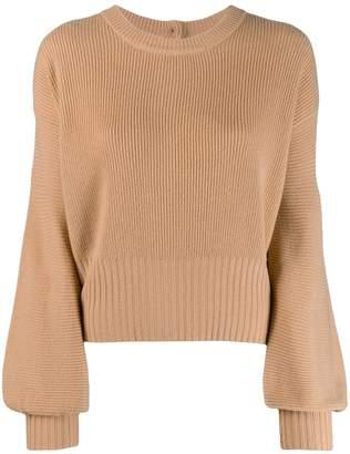 Pinko wide sleeves knit jumper