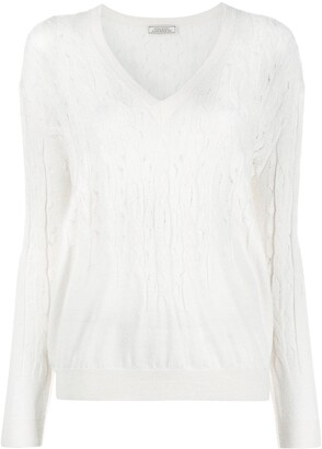 Nina Ricci Cable Knit Jumper