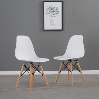 White Wooden Side Chair Shop The World S Largest Collection Of Fashion Shopstyle