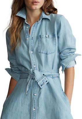 Polo Ralph Lauren Belted Denim Shirtdress