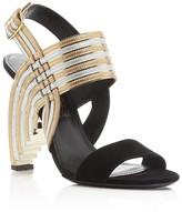 Salvatore Ferragamo Lenny Ankle Strap High Heel Sandals