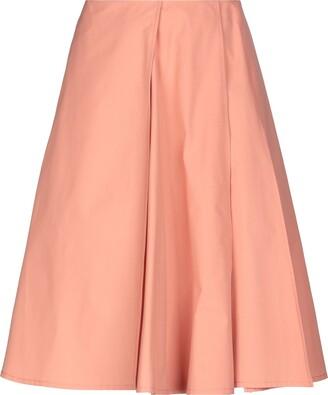 Jil Sander Knee length skirts