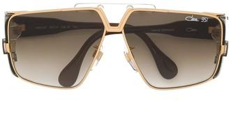 Cazal geometric shaped sunglasses