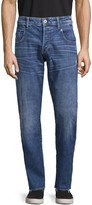 G Star Raw Radar Straight Tapered Button-Fly Jeans