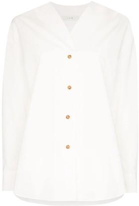 LVIR V-Neck Buttoned Shirt