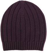 Eleventy ribbed detail beanie - men - Virgin Wool - One Size