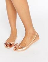 Ted Baker Immet Rose Gold Ballet Flats