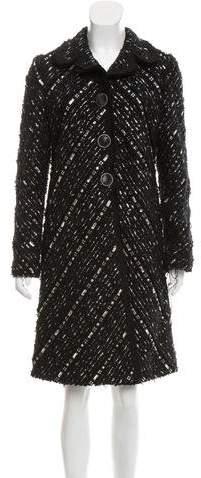 Marc Jacobs Embellished Tweed Coat w/ Tags