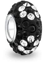 Bling Jewelry 925 Sterling Silver Flower Crystal Bead Pandora Compatible