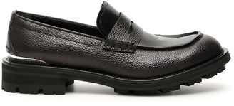 Alexander McQueen Leather Loafers