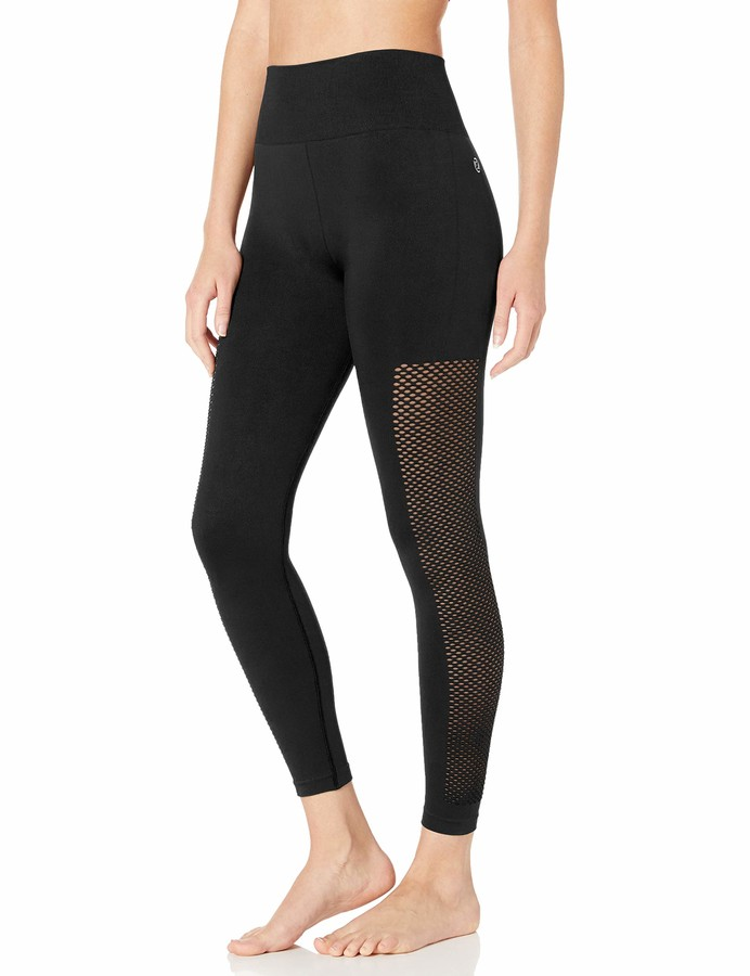 Core 10 Seamless High Waist Mesh Legging-26 Yoga Pants