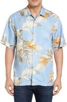 Tommy Bahama Guava Garden Silk Camp Shirt (Big & Tall)