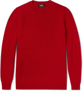 A.p.c. - Milord Wool And Cashmere-blend Sweater